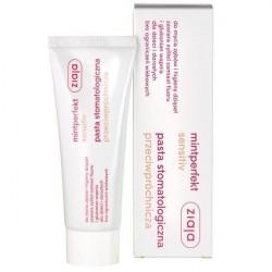 Pasta do zębów Ziaja Mintperfect Sensitive, przeciwpróchnicza 75ml