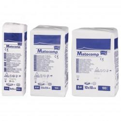 Kompresy z gazy Matocomp, niejałowe 100szt.