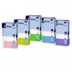 Rękawiczki nitrylowe Ambulex Nitryl, niebieskie, medyczne 100 szt.