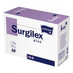 Rękawiczki lateksowe Surgilex Plus, białe