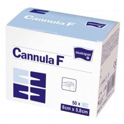 Opatrunek do kaniul Cannula F, samoprzylepny, włókninowo-foliowy