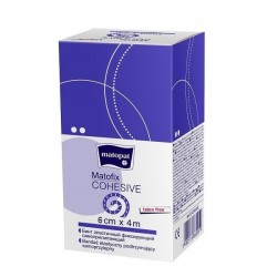 Bandaż elastyczny Matofix Cohesive, samoprzylepny