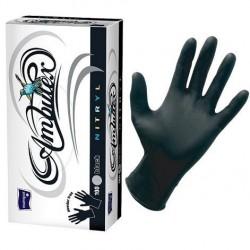 Rękawiczki nitrylowe Ambulex Nitryl, czarne