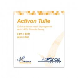 Opatrunek Activon Tulle, nasączony miodem Manuka
