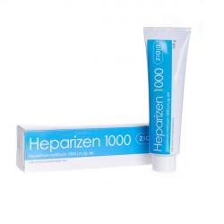 Żel na blizny i stłuczenia Heparizen 1000