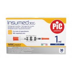 Strzykawka insulinowa Insumed, z igłą
