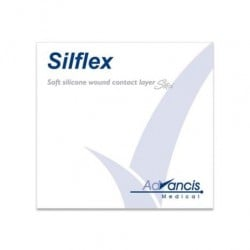 Opatrunek siatkowy Silflex, silikonowy