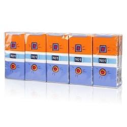Chusteczki higieniczne Bella No1, 3-warstwowe 10x10szt.