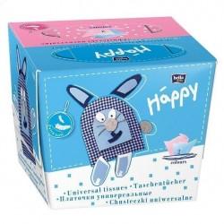 Chusteczki higieniczne Bella Baby Happy, dwukolorowe
