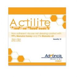 Opatrunek siatkowy Actilite, z miodem Manuka