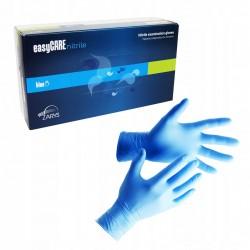 Rękawiczki jednorazowe nitrylowe EasyCare, niebieskie, 100 szt.