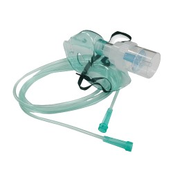 Maska tlenowa z drenem i nebulizatorem
