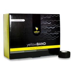 Bandaż samoprzylepny YellowBAND czarny 36 szt.