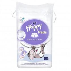 Płatki kosmetyczne dla dzieci Bella Baby Happy Cotton Pads 60 szt.